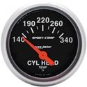 "Picture of Cylinder head temp gauge inc sender 2 1/16"""